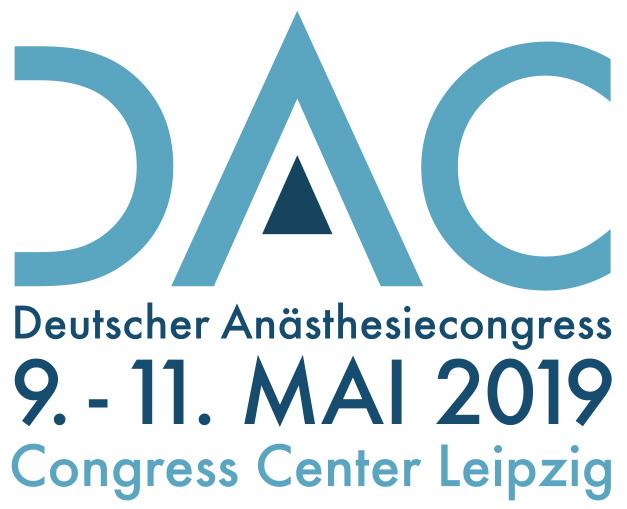 DAC 2019 – Deutscher Anästhesiecongress 2019 @ Congress Center Leipzig   Leipzig   Sachsen   Deutschland